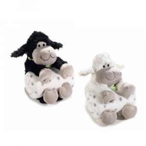Coperta con pecorella in peluche