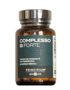 Bios Line Principium Complesso B Forte Integratore Vitaminico-60 capsule vegetali