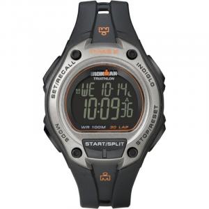 Timex Lap Mega - nero, particolari arancione -