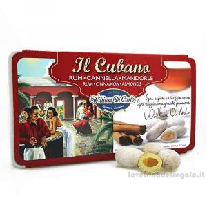 Confetti alla mandorla Il Cubano in scatola regalo 200gr William Di Carlo Sulmona - Italy