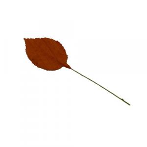 Foglia marrone decorazione bomboniere