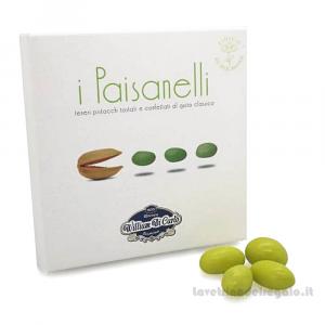 Confetti I Paisanelli al pistacchio 70gr/1Kg W. Di Carlo Sulmona - Italy