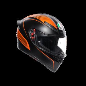 Casco AGV K1 Warm Up Black/Orange
