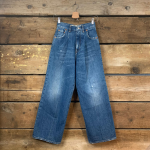 Jeans Donna Haikure Woodstock Early Blu Slavato (Baggy Fit)