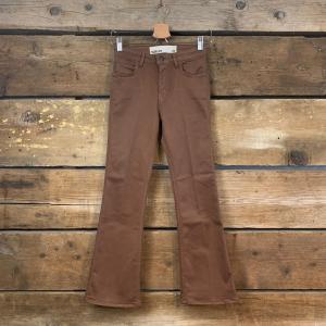 Pantalone Haikure Formentera Crop Ecru Scuro (A Trombetta)