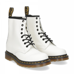Dr. Martens Anfibio Donna 1460 white smooth