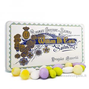 Confetti Delizie allo zucchero 5 gusti in scatola regalo 200gr William Di Carlo Sulmona - Italy