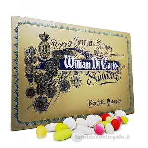 Confetti Delizie allo zucchero 10 gusti in scatola regalo 500gr William Di Carlo Sulmona - Italy
