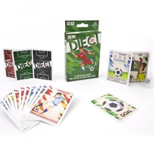 DIECI (Il gioco di carte per chi ha fiuto del goal)