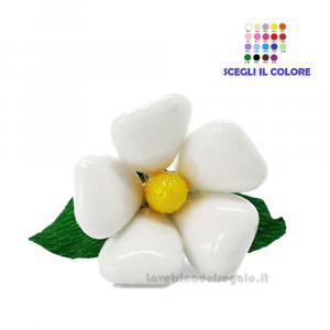 Margherita bianca Cuore Fiore di confetti William Di Carlo Sulmona - Italy