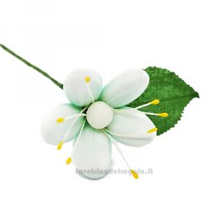 Pratolina piccola in tulle Fiore di Confetti William Di Carlo Sulmona - Italy