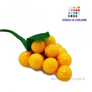 Piccolo grappolo d'uva giallo Fiore di Confetti William Di Carlo Sulmona - Italy