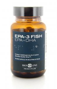 Bios Line Principium EPA-3 Fish Integratore per Cuore e Colesterolo 90 Capsule