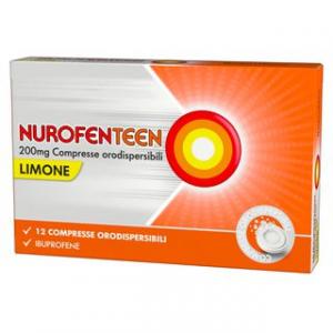 Nurofenteen 200mg Compresse Orodispersibili-gusto Limone-12 comp.