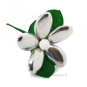 Margherita argento Fiore di Confetti William Di Carlo Sulmona - Italy