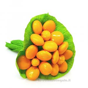 Mazzolino azalea gialla Fiori di Confetti William Di Carlo Sulmona - Italy