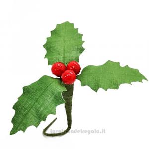 Agrifoglio di Natale Fiore di Confetti William Di Carlo Sulmona - Italy