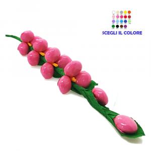 Rametto lupino rosa Fiore di Confetti William Di Carlo Sulmona - Italy