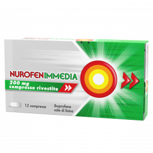 Nurofen Immedia 200mg Ibuprofene 12 compresse rivestite