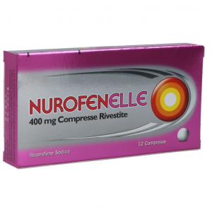 Nurofenelle dolori mestruali-12 Compresse Rivestite 400 mg