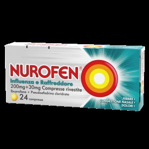 Nurofen Influenza E Raffreddore 24 compresse rivestite
