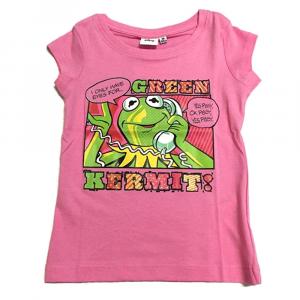 T-shirt The Muppets taglia 4 anni manica corta rosa