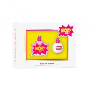 Agatha Ruiz De La Prada Wow Girl Eau De Toilette Spray 50ml Set 2 Parti 2020