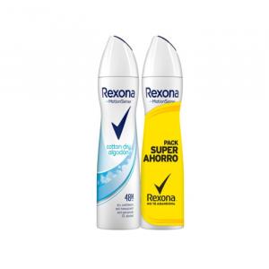 Rexona Algodon Deodorante Spray 2x200ml