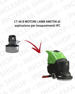 CT 40 B Lamb Ametek Saugmotor für Scheuersaugmaschinen IPC