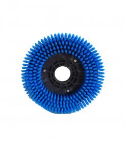 SPAZZOLA MOQUETTE in PPL 0,3 Dimensioni ø 245 x 55 valida  for scrubber dryer COMAC mod. C50 e ABILA 52