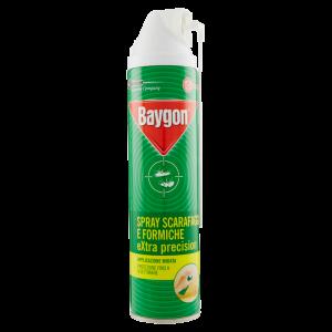 BAYGON Scarafaggi e Formiche Extra Precision Spray 400ml