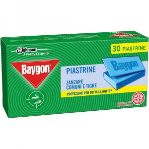 BAYGON Piastrine Zanzare 30pz