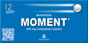 MOMENT 200 mg 12 Compresse Rivestite- Ibuprofene