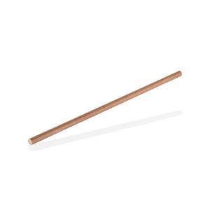 Cannucce in CARTA compostabili 21cm diam.6mm AVANA