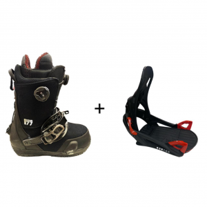Scarpone Burton SO-G Boa Step On + Attacchi Burton Bindings Step On TEST