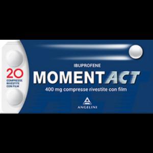 Momentact 20 Compresse Rivestite 400mg Ibuprofene