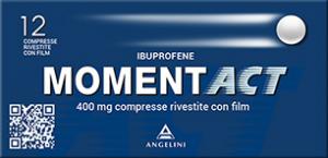 MomentAct 400mg 12 compresse Ibuprofene