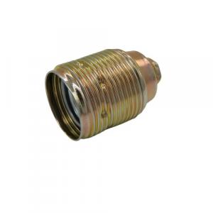 Porta lampade E27 metallo filettato