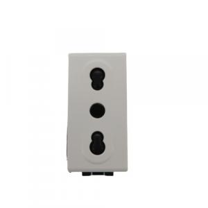 Presa doppia Ticino Light N4180 bianca