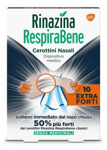 Rinazina Respira Bene Cerottini Nasali Trasparenti Pelli Sensibili 30 pezzi