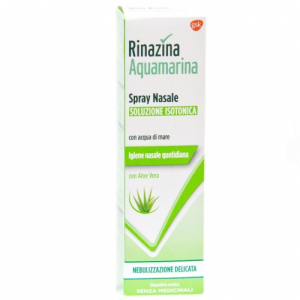 Rinazina Aquamarina spray nasale delic 100ml aloe vera