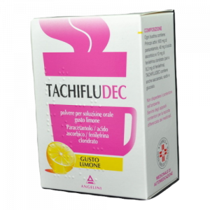 Tachifludec 10 Bustine Gusto Limone