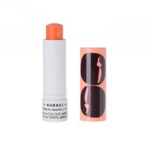 Korres Lip Balm Care & Colour Stick Peach 5ml