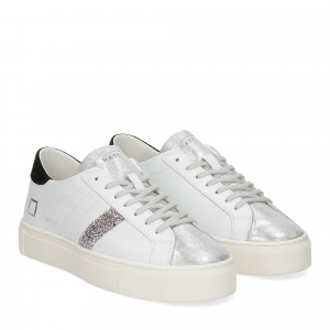 D.A.T.E. Vertigo calf white black