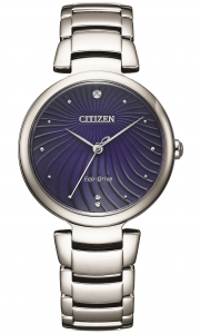 Citizen Lady L collection, quadrante blu