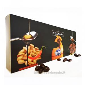 Confetti Neromania mix al cioccolato in scatola regalo 360gr William Di Carlo Sulmona - Italy