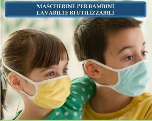 MASCHERINA LAVABILE - BAMBINI