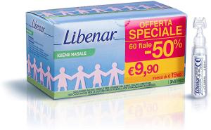 Libenar® Soluzione Isotonica 60 Flaconcini da 5 ml