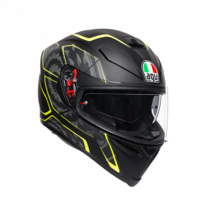 Casco AGV K5 S Tornado Black/Yellow-Fluo