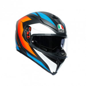 Casco AGV K5 S Core Black/Blue/Orange